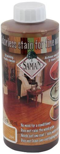 Saman Tew-204-12 Interior Water Based Stain for Fine Wood - 355ml