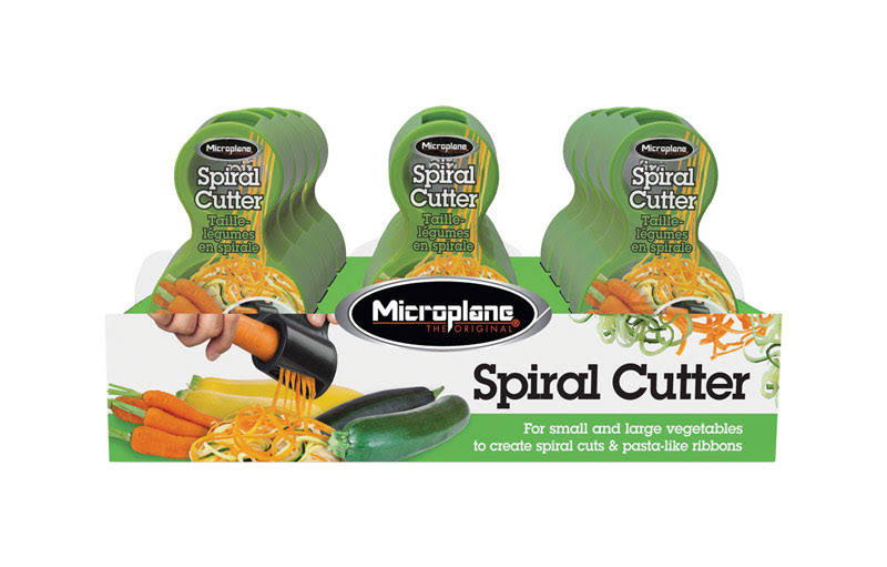Microplane Spiral Vegetable Cutter Plastic