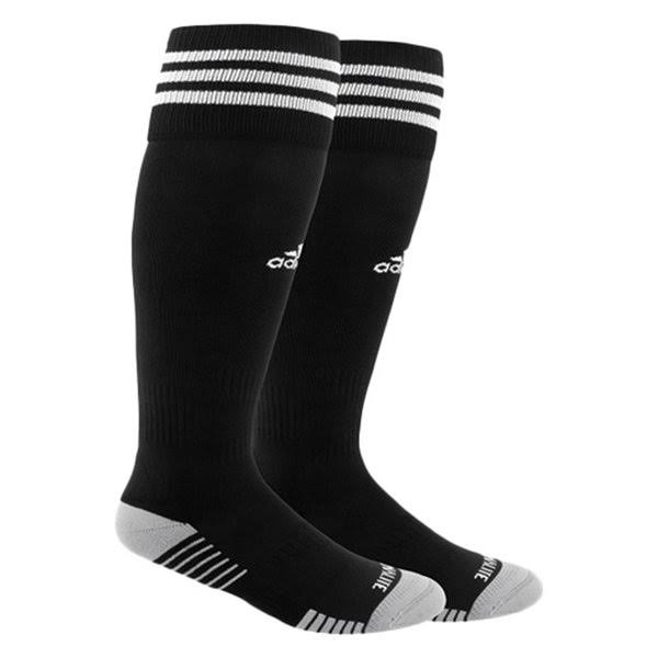 Adidas Copa Zone Cushion IV OTC Socks - Black/White, 13C-4Y