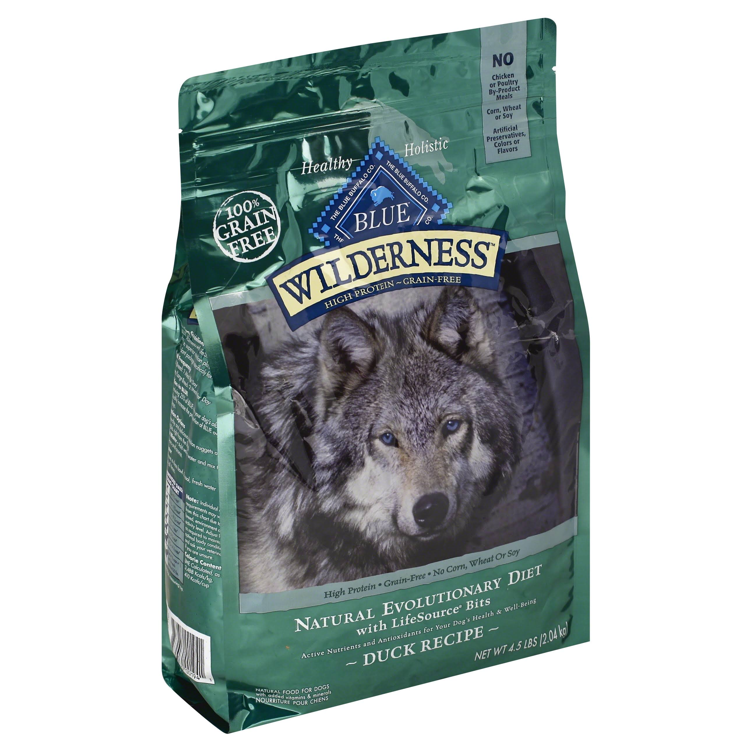 Blue Buffalo Company Wilderness Dog Food - Chicken