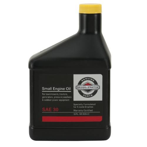 Briggs and Stratton SAE 30W Engine Oil - 18oz