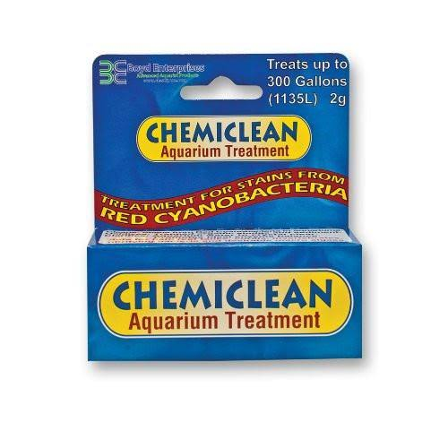 Boyds Chemiclean Aquarium Treatment - 2g