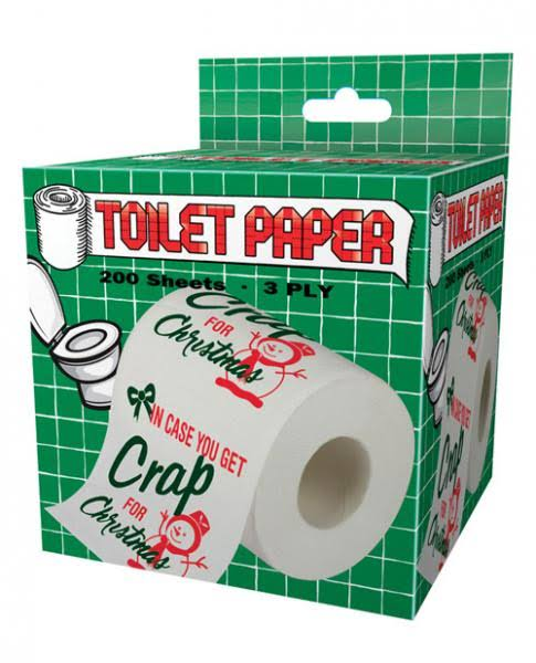 Island Dogs in Case You Get Crap for Christmas Toilet Paper