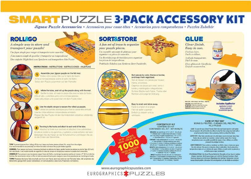 Eurographics Smart Puzzle 3 Pack Accessory Kit