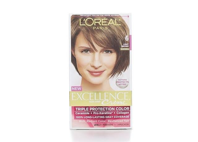 L'Oréal Paris Excellence Creme Hair Color - 6 Light Brown