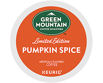 Green Mountain Keurig Brewers Coffee K Cup - Pumpkin Spice, 24pcs