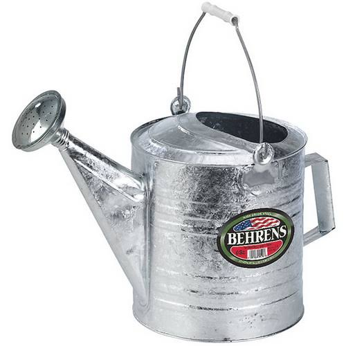 Behrens Hot Dipped Steel Watering Can - 2.5 gal