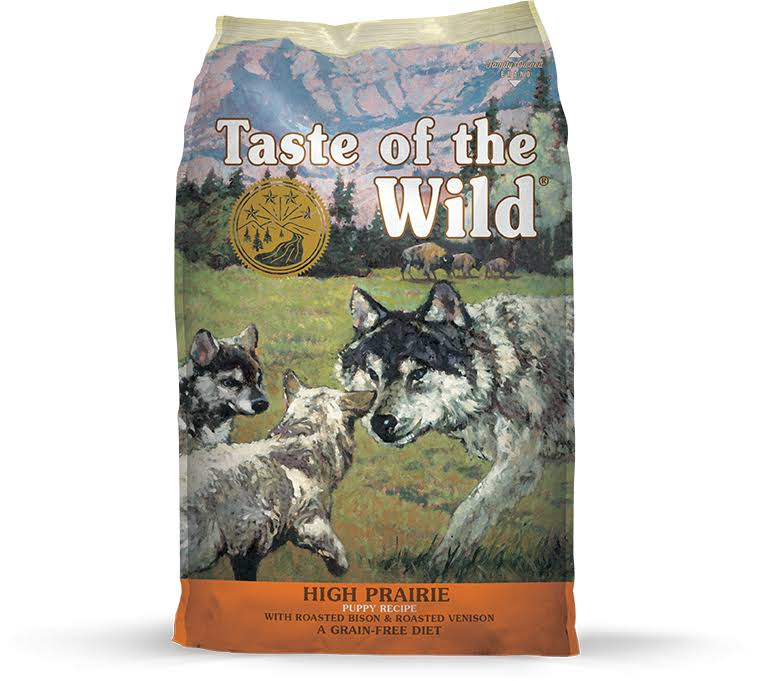 Taste Of The Wild High Prairie Puppy Dry Dog Food - 30lb