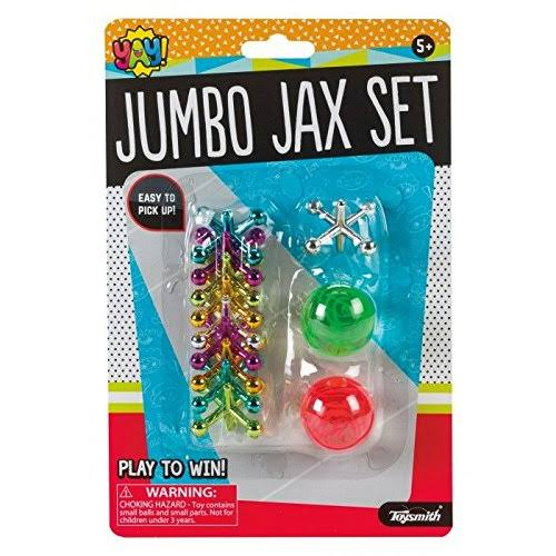 Jumbo Jax Set (Colors May Vary) - Novelty Toy by Toysmith (90901)