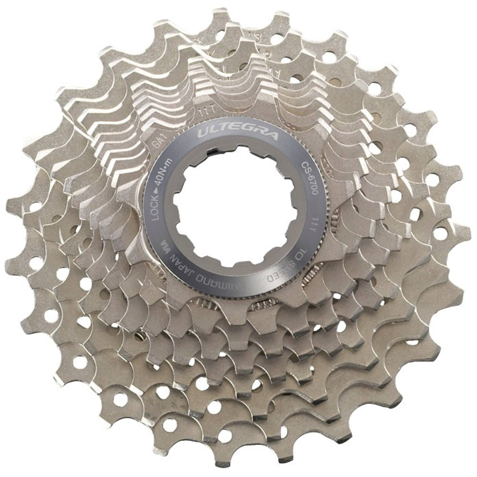 Shimano Ultegra Bicycle Cassette - 10 Speed, 12-25T