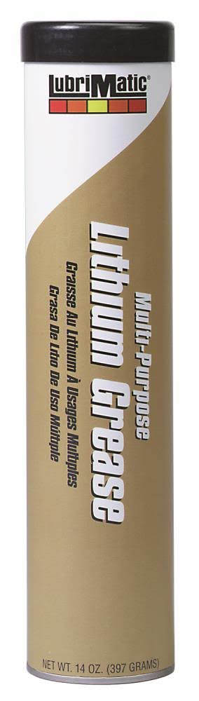 Lubrimatic Multipurpose Lithium Grease - 14oz