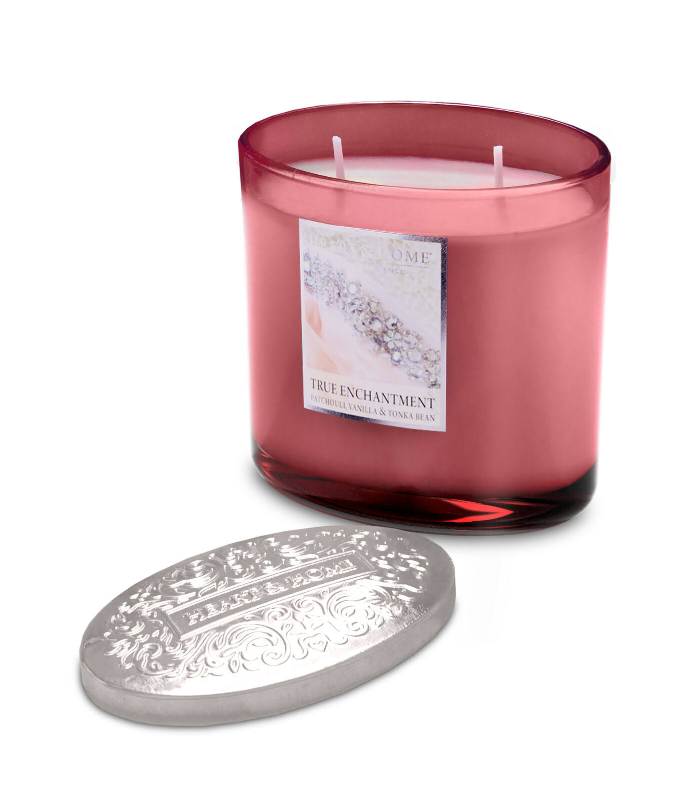 Heart & Home Ellipse Candle, 2 Wick - True Enchantment