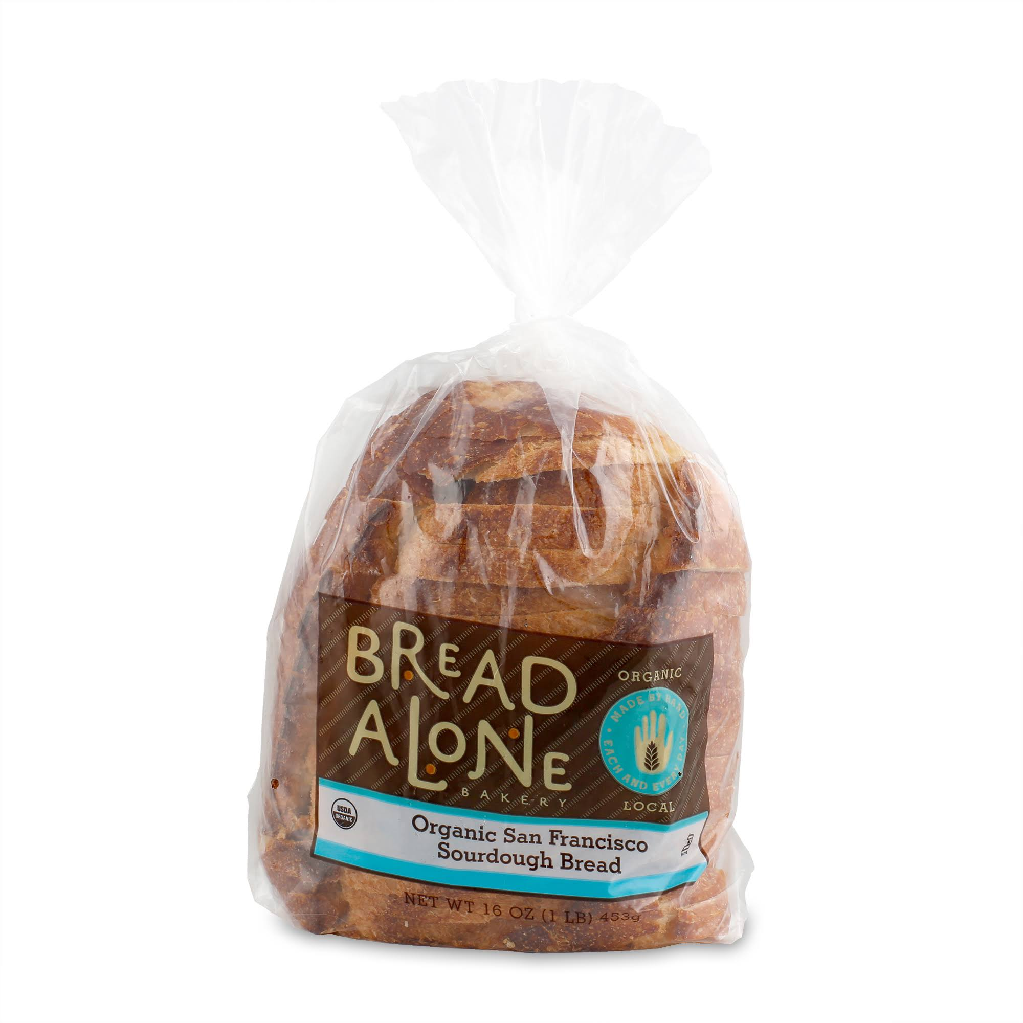 Bread Alone Bakery Bread, Organic, San Francisco Sourdough - 16 oz