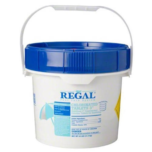 Regal 12001570 3 in. Chlorinated Tablets - 4 lbs 4 per Case