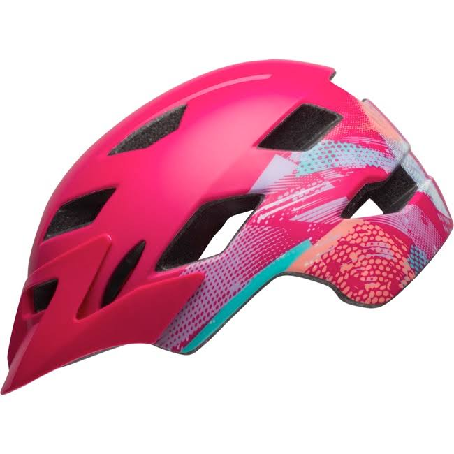 Bell Sidetrack Helmet Universal Youth Gnarly Matte Berry