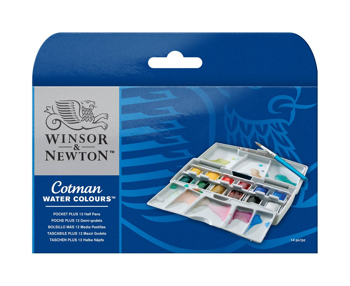 Cotman Water Colour Pocket Plus Set - Set of 12