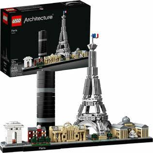 LEGO 21044 Architecture Paris Building Kit