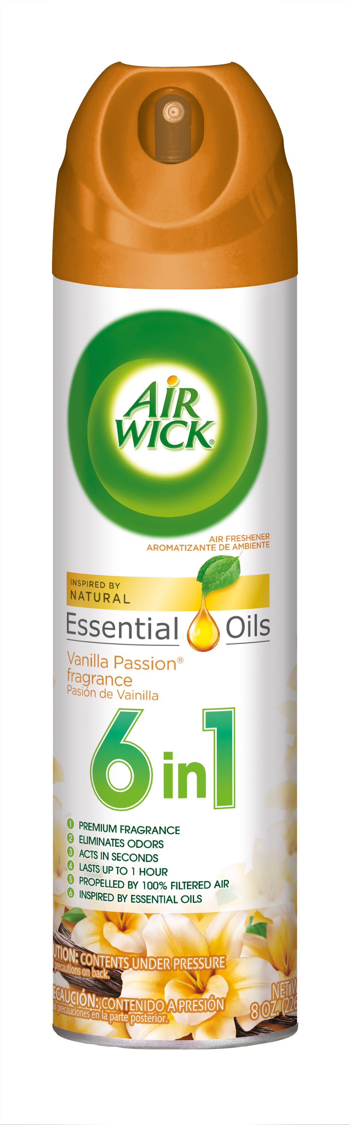 Air Wick 2 in 1 Air Freshener Spray - 8oz, Vanilla Indulgence