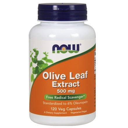Now Foods Olive Leaf Extract - 500 mg, 120 VCaps