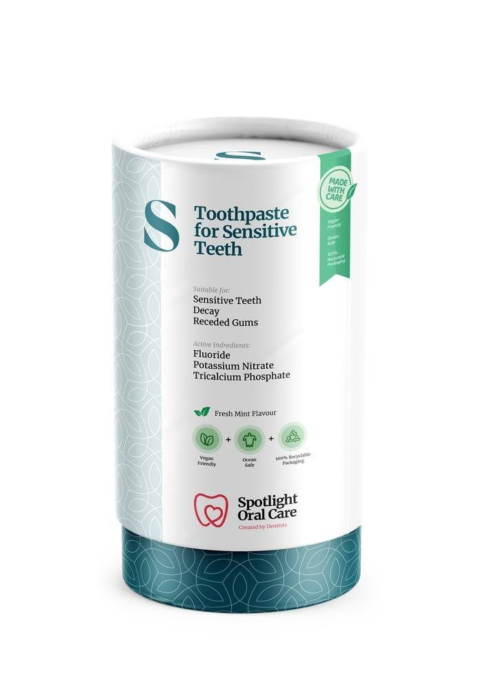 Spotlight Oral Care for Sensitive Teeth Toothpaste - Fresh Mint Flavour, 100ml