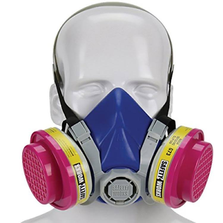 Safety Works - Multi-purpose Half Mask Respirator