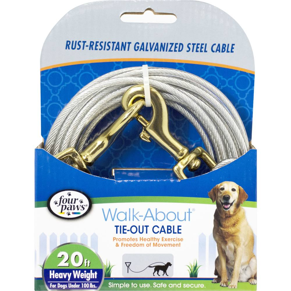 Four Paws Dog Tie Out Cable