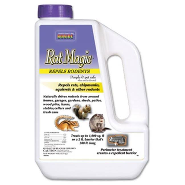 Bonide Rat Magic Rodent Repellent - 5lb