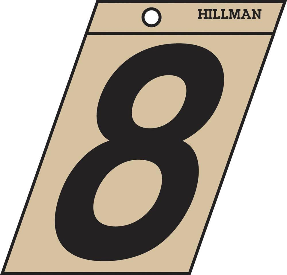 The Hillman Group 839154 1-1/2 In. Black & Gold Mylar - 8