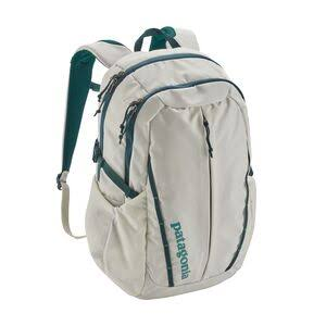 Patagonia Women's Refugio 26L Pack Birch White/Tidal Teal