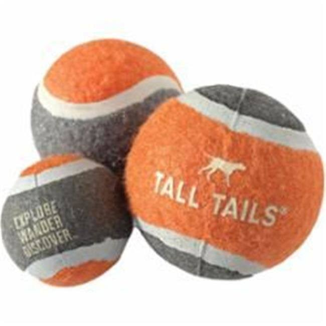 Tall Tails 88216264 Sport Ball Dog Toy Orange - Medium - 2.5 in.