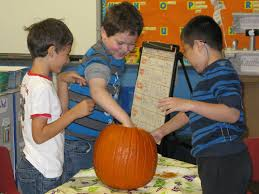 Steps To Carve A Pumpkin Worksheet by The Pumpkin Project Math Science And Fun Scholastic