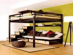 Build Loft Bed With Desk by Great Bunk Beds With Couch Underneath Big Boys Room Pinterest