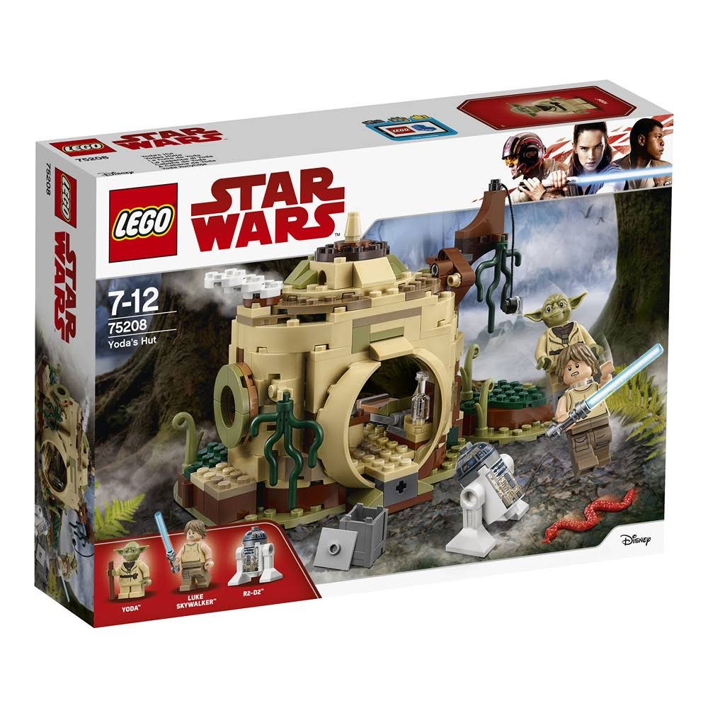 Lego Star Wars 75208 Yoda's Hut - 229 Pieces