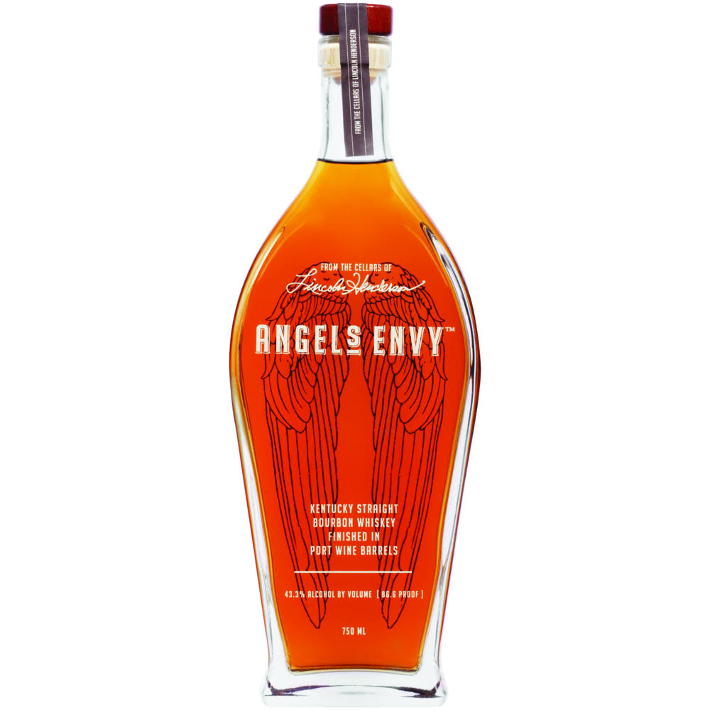 Angel's Envy Port Barrel Finish Kentucky Bourbon Whiskey