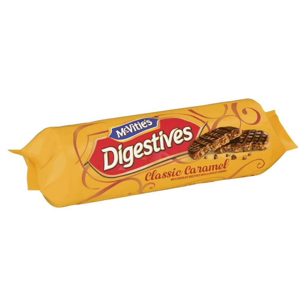 McVitie's Digestives Classic Caramel Biscuits - 267g