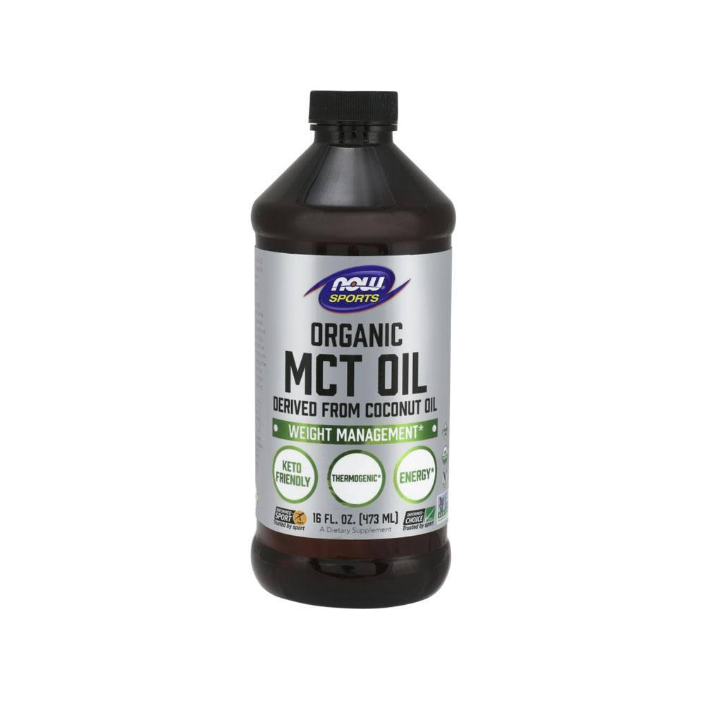 Now Sports MCT Oil, Organic - 16 fl oz
