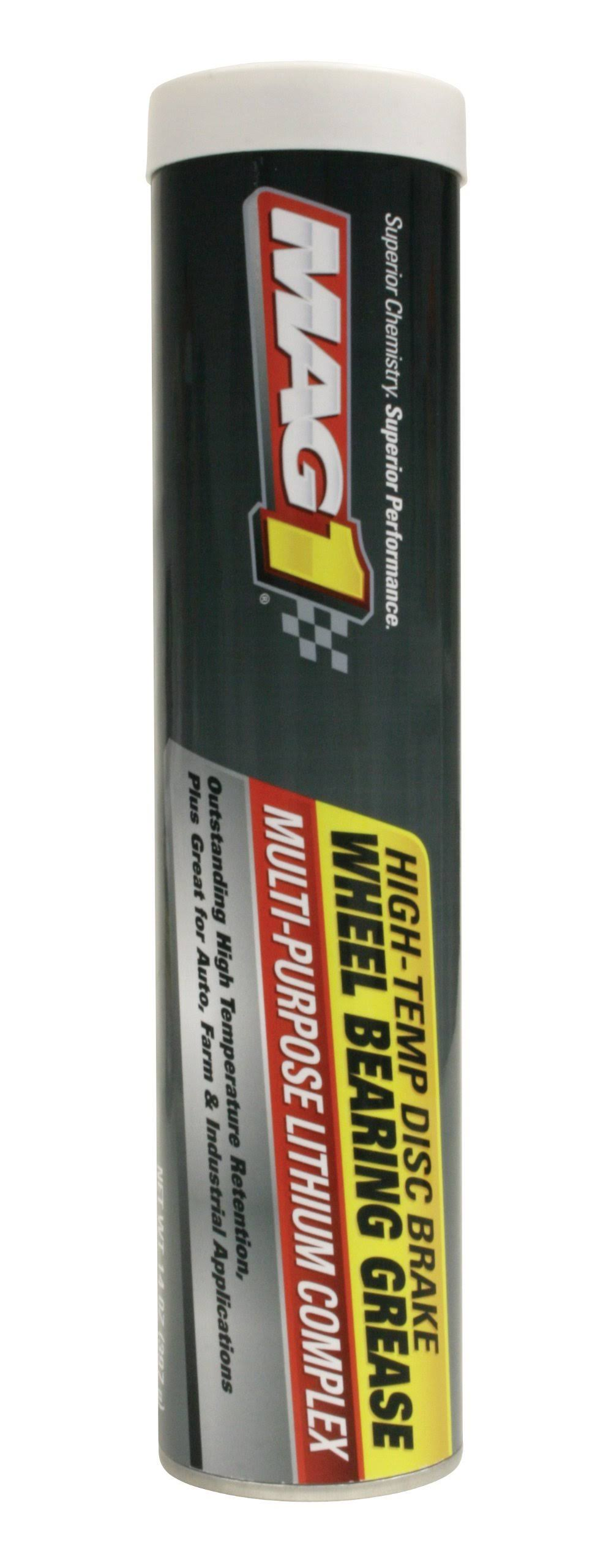 Mag 1 723-10PK High-Temp Disc Brake Wheel Bearing Grease - 14 oz.