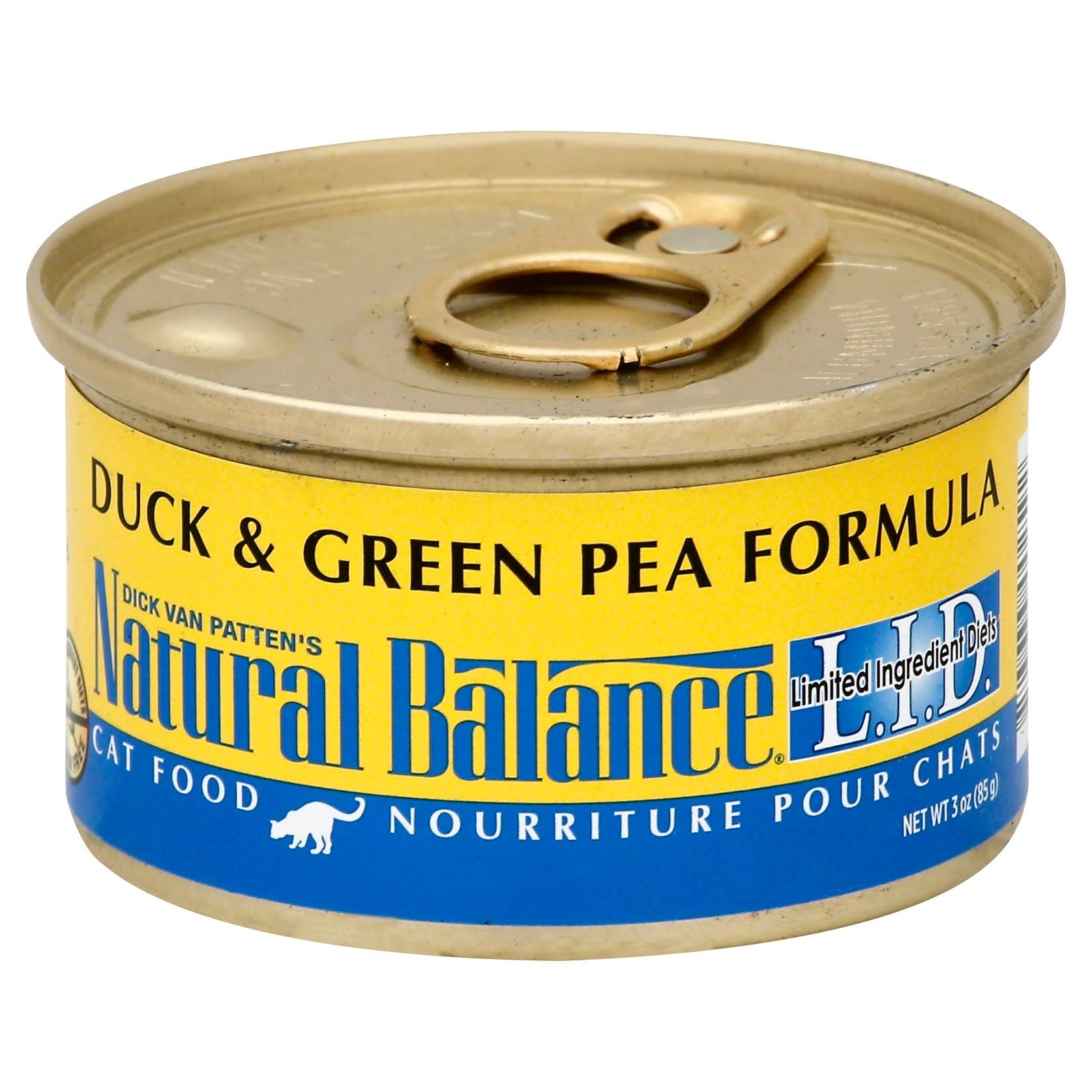 Natural Balance L.I.D. Limited Ingredient Diets Wet Cat Food - Duck & Green Pea Formula