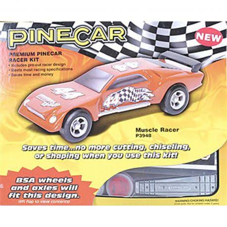 Pinecar Muscle Racer Premium Kit
