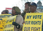 Protect the Voting Rights Act rally at the SCOTUS | Flickr - Photo ...
