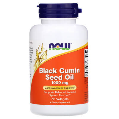 Now - Black Cumin Seed Oil 1000 mg - 60 Softgels