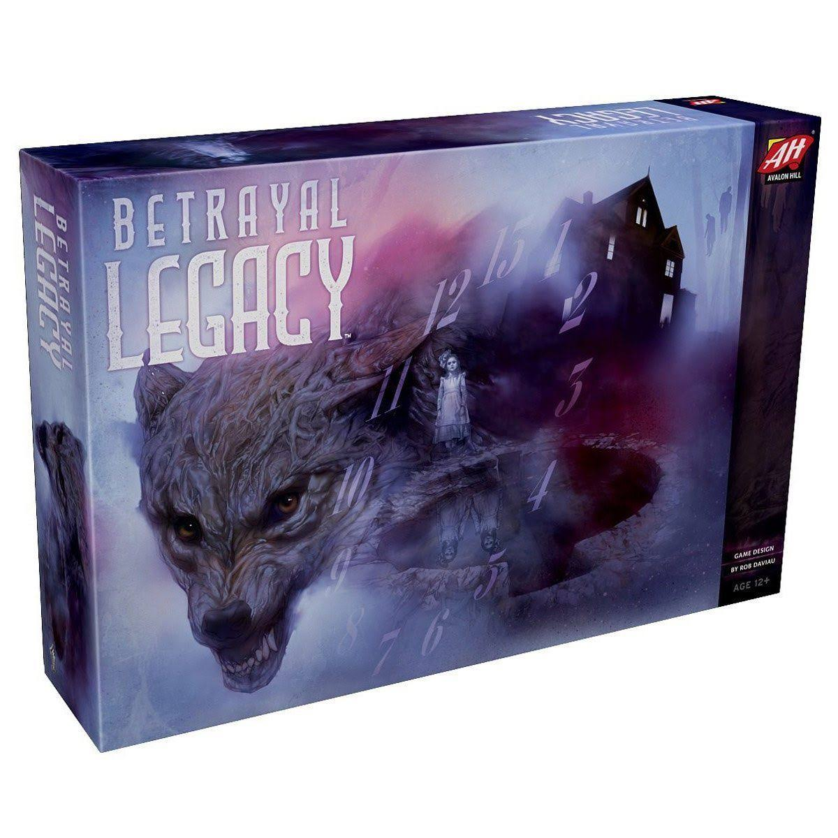 Wizards of the Coast Betrayal Legacy Board Game