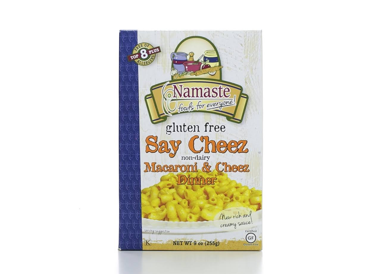 Namaste Say Cheez Macaroni & Cheez Dinner - 9oz