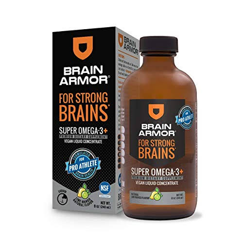Brain Armor NSF Certified Pro Athlete Liquid Concentrate, Mango Lime, 8oz
