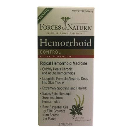 Forces of Nature Hemorrhoid Control Extra Strength Treatment - 5ml