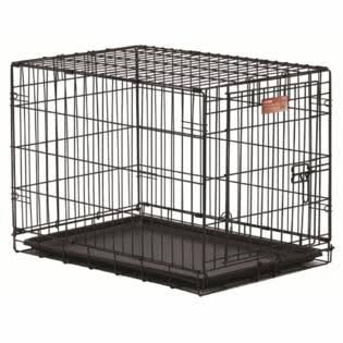 "Midwest Ircate Folding Metal Dog Crate - 18"" X 12"" X 14"""