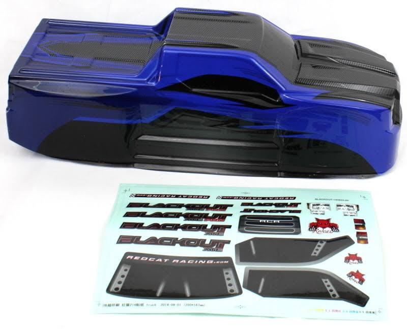 Redcat Racing BS214-003T-BLUE Truck Body Blue