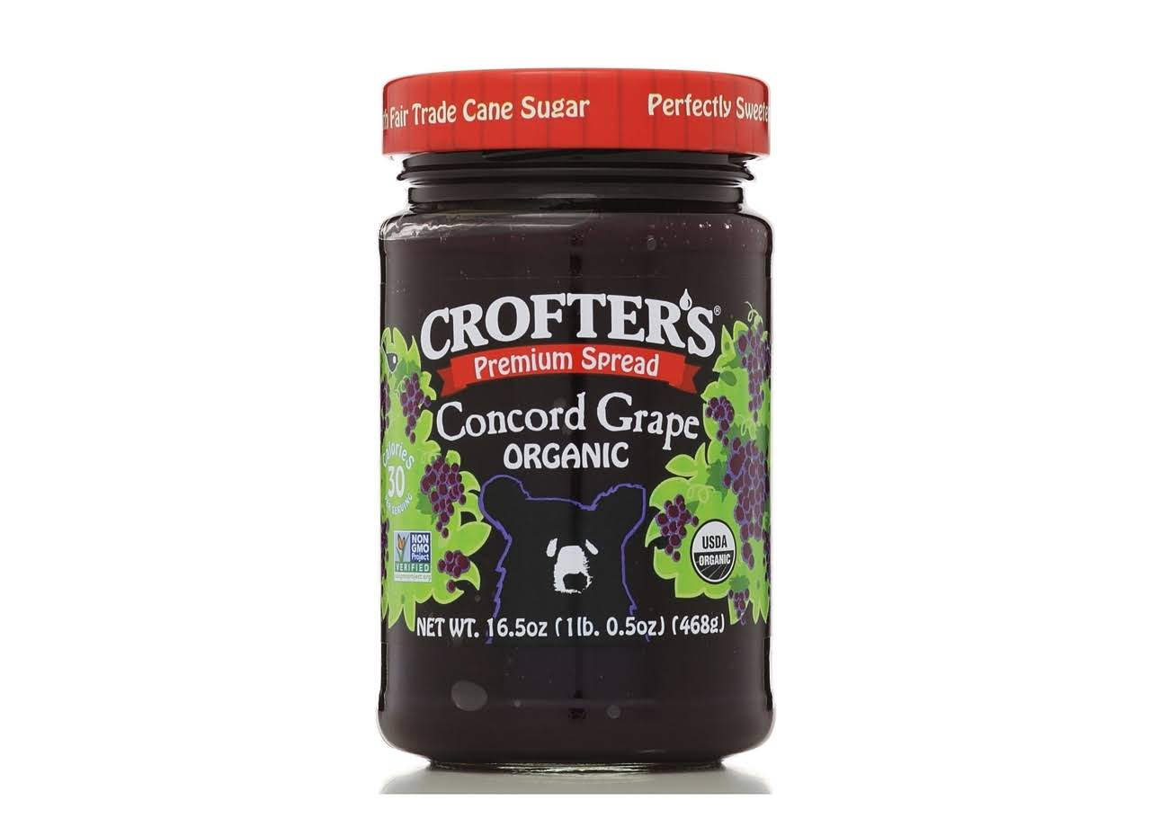 Crofters Organic Premium Concord Grape Spread - 16.5oz