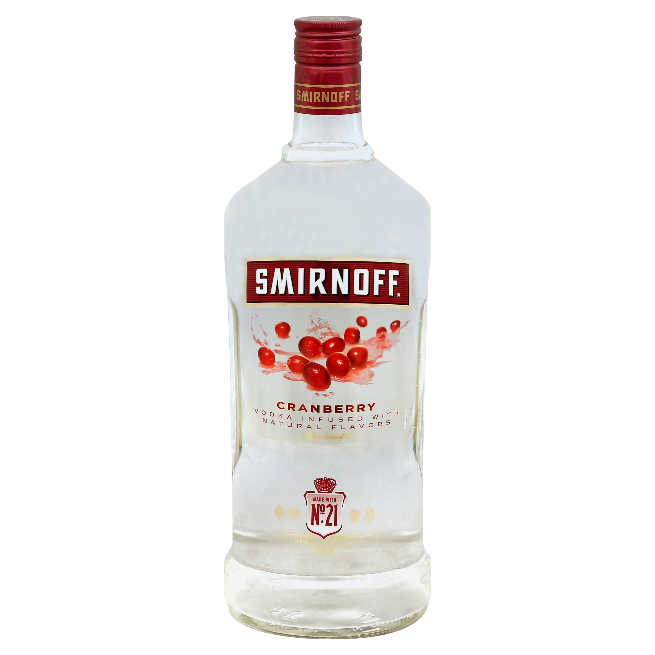 Smirnoff Vodka - Twist of Cranberry, 1.75L