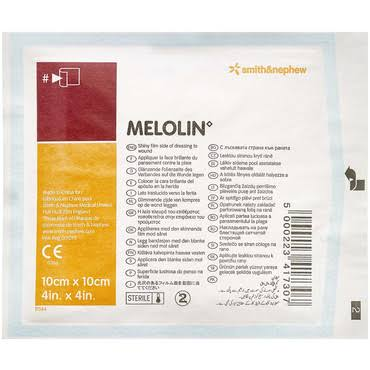 Smith & Nephew Melolin Adhesive Dressings - 5 Dressings